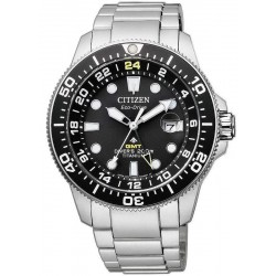 Citizen Men's Watch Promaster Diver's Eco-Drive Super Titanium GMT BJ7110-89E
