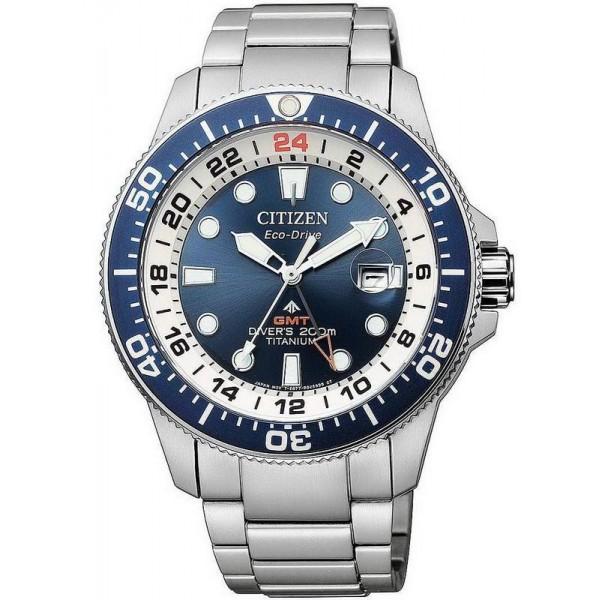 Buy Citizen Men's Watch Promaster Diver's Eco-Drive Super Titanium GMT BJ7111-86L