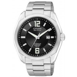 Citizen Men's Watch Super Titanium Eco-Drive BM7080-54E
