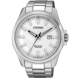 Citizen Men's Watch Super Titanium Eco-Drive BM7470-84A