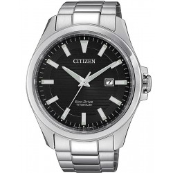 Citizen Men's Watch Super Titanium Eco-Drive BM7470-84E