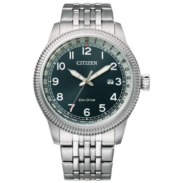 Buy Citizen Mens Watch Aviator Eco Drive BM7480-81L