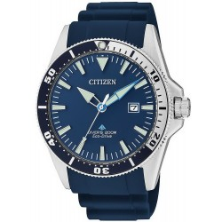 Citizen Men's Watch Promaster Marine Diver's Eco-Drive 200M BN0100-34L