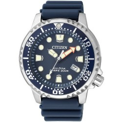 Citizen Men's Watch Promaster Marine Diver's Eco-Drive 200M BN0151-17L