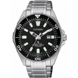 Citizen Men's Watch Promaster Diver's Eco Drive 200M Super Titanium BN0200-81E