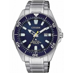 Citizen Men's Watch Promaster Diver's Eco Drive 200M Super Titanium BN0201-88L