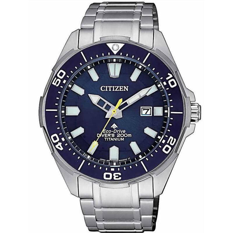 Citizen men 39 s watch promaster diver 39 s eco drive 200m super titanium bn0201 88l - Citizen titanium dive watch ...