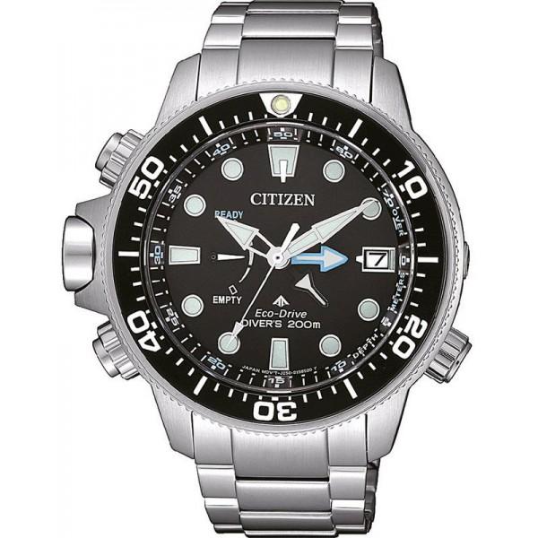 Buy Citizen Men's Watch Promaster Aqualand Eco-Drive Diver's 200M BN2031-85E