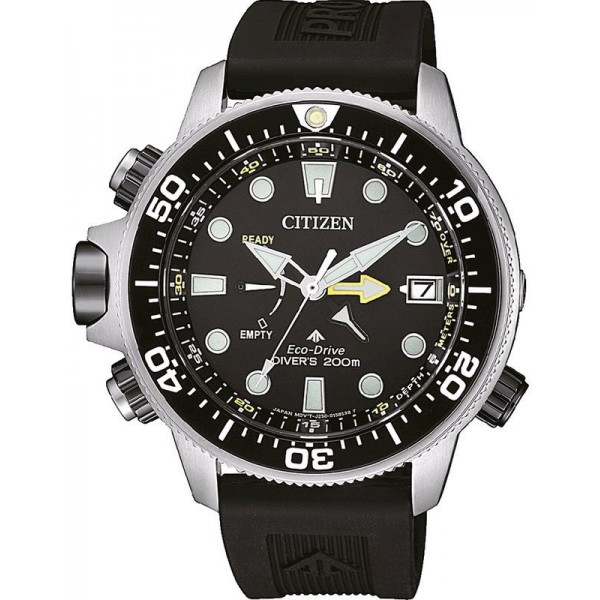 Buy Citizen Men's Watch Promaster Aqualand Eco-Drive Diver's 200M BN2036-14E