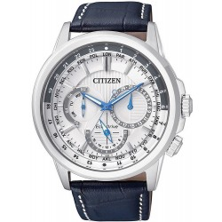 Citizen Men's Watch Calendrier Eco-Drive BU2020-11A Multifunction