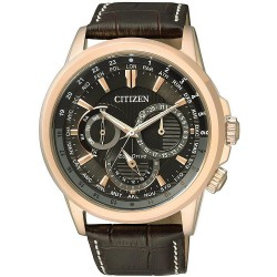 Citizen Men's Watch Calendrier Eco-Drive BU2023-12E Multifunction