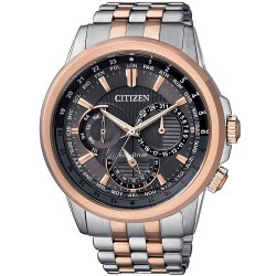 Citizen Men's Watch Calendrier Eco-Drive BU2026-65H Multifunction