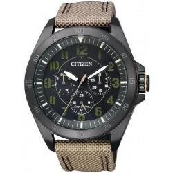 Citizen Men's Watch Military Eco-Drive Multifunction BU2035-05E