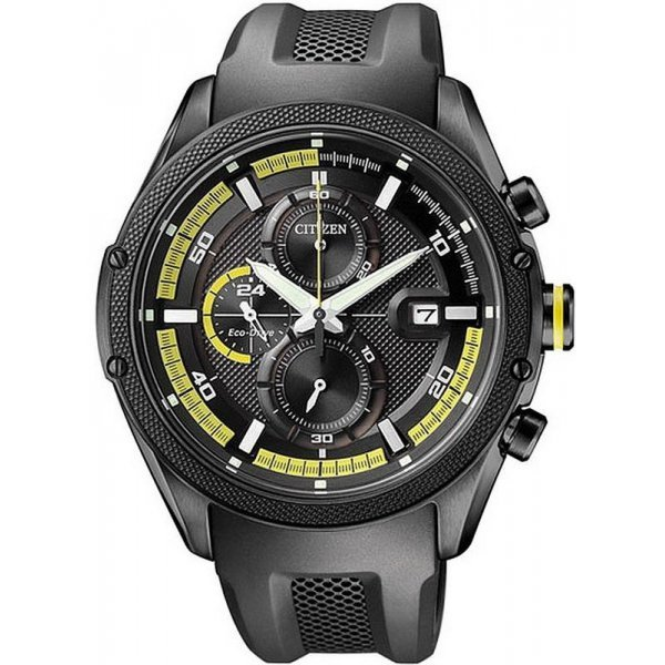 Buy Citizen Men's Watch Chrono Eco-Drive CA0125-07E