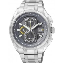 Citizen Men's Watch Super Titanium Chrono Eco-Drive CA0200-54H
