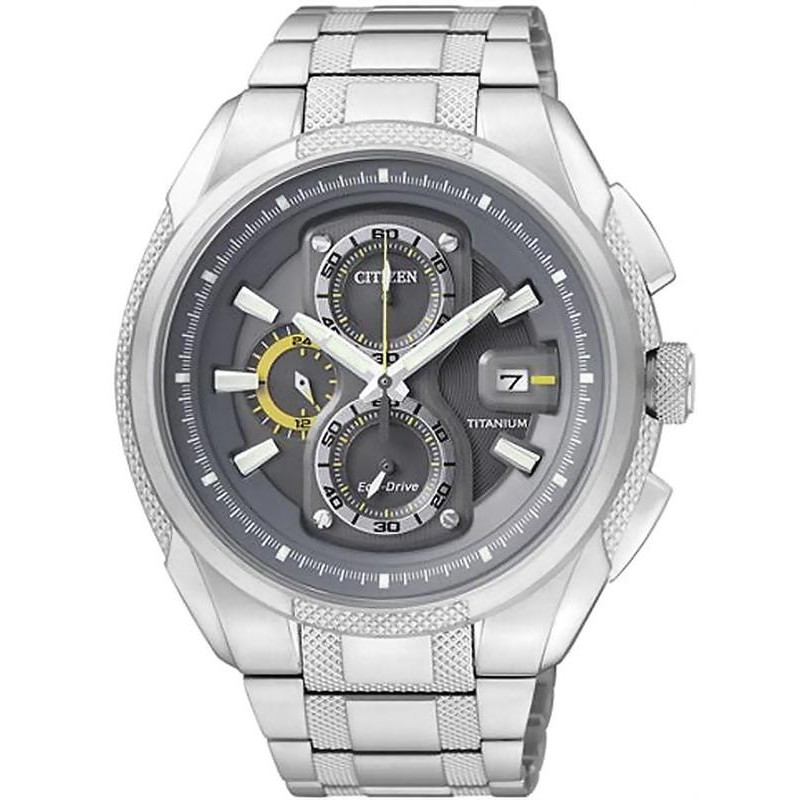 323ed7b2d Citizen Men's Watch Super Titanium Chrono Eco-Drive CA0200-54H