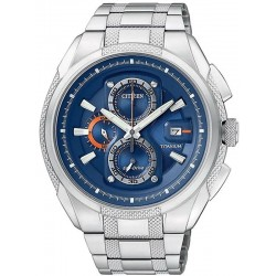 Citizen Men's Watch Super Titanium Chrono Eco-Drive CA0200-54L