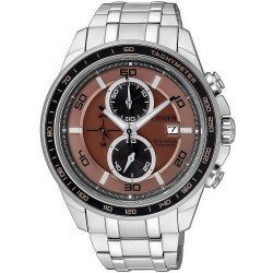 Citizen Men's Watch Super Titanium Chrono Eco-Drive CA0347-56W