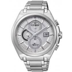 Citizen Men's Watch Super Titanium Chrono Eco-Drive CA0350-51A
