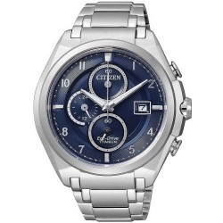 Citizen Men's Watch Super Titanium Chrono Eco-Drive CA0350-51L
