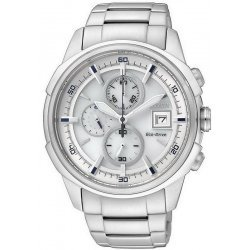 Buy Citizen Men's Watch Chrono Eco-Drive CA0370-54B
