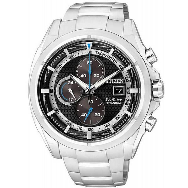 Buy Citizen Men's Watch Super Titanium Chrono Eco-Drive CA0550-52E
