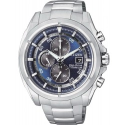 Citizen Men's Watch Super Titanium Chrono Eco-Drive CA0550-52M