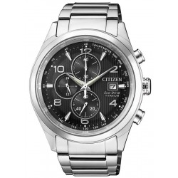 Citizen Men's Watch Super Titanium Chrono Eco-Drive CA0650-82E