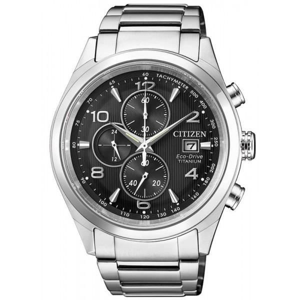 Buy Citizen Men's Watch Super Titanium Chrono Eco-Drive CA0650-82E