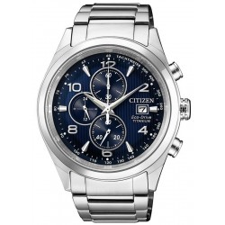 Citizen Men's Watch Super Titanium Chrono Eco-Drive CA0650-82L
