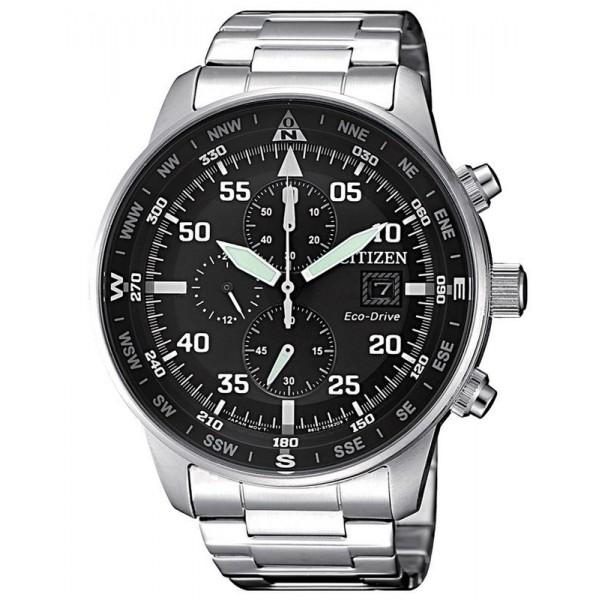 Buy Citizen Men's Watch Aviator Chrono Eco-Drive CA0690-88E