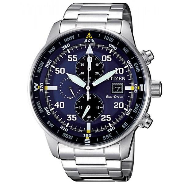 Buy Citizen Men's Watch Aviator Chrono Eco-Drive CA0690-88L