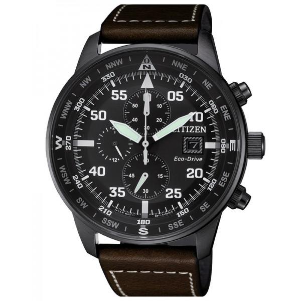 Buy Citizen Men's Watch Aviator Chrono Eco-Drive CA0695-17E