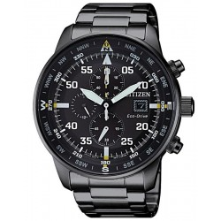 Buy Citizen Men's Watch Aviator Chrono Eco-Drive CA0695-84E