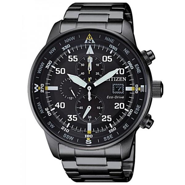 Buy Citizen Men's Watch Aviator Chrono Eco-Drive CA0695-84E
