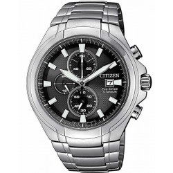 Citizen Men's Watch Super Titanium Chrono Eco-Drive CA0700-86E