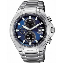 Citizen Men's Watch Super Titanium Chrono Eco-Drive CA0700-86L