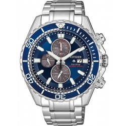 Citizen Men's Watch Promaster Chrono Diver's 200M Eco-Drive CA0710-82L