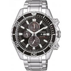 Citizen Men's Watch Promaster Chrono Diver's 200M Eco-Drive CA0711-80H