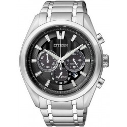 Citizen Men's Watch Super Titanium Chrono Eco-Drive CA4010-58E