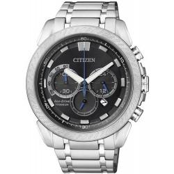 Citizen Men's Watch Super Titanium Chrono Eco-Drive CA4060-50E