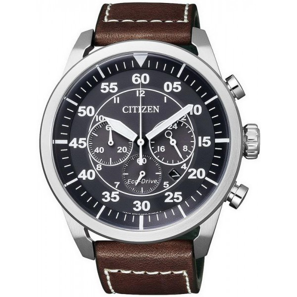 Buy Citizen Men's Watch Aviator Chrono Eco-Drive CA4210-16E