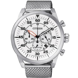 Citizen Men's Watch Aviator Chrono Eco-Drive CA4210-59A