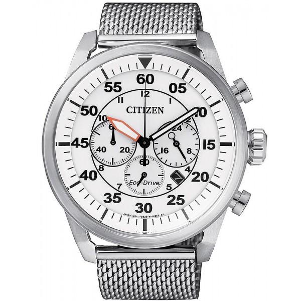 Buy Citizen Men's Watch Aviator Chrono Eco-Drive CA4210-59A