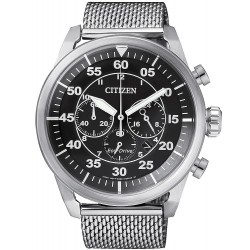Buy Citizen Men's Watch Aviator Chrono Eco-Drive CA4210-59E