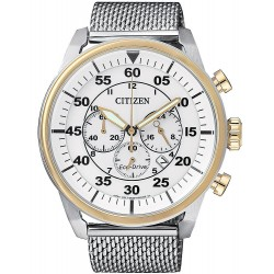 Citizen Men's Watch Aviator Chrono Eco-Drive CA4214-58A
