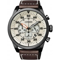 Buy Citizen Men's Watch Aviator Chrono Eco-Drive CA4215-04W