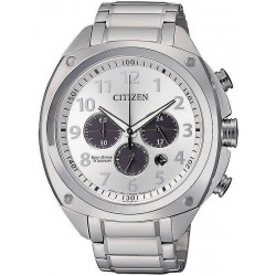 Citizen Men's Watch Super Titanium Chrono Eco-Drive CA4310-54A