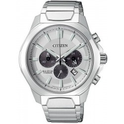 Citizen Men's Watch Super Titanium Chrono Eco-Drive CA4320-51A