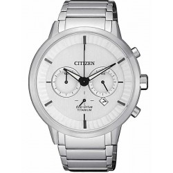 Citizen Men's Watch Super Titanium Chrono Eco-Drive CA4400-88A